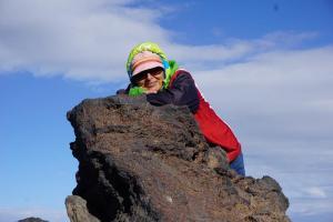 Teneriffa, Teide mit Tadeja on top