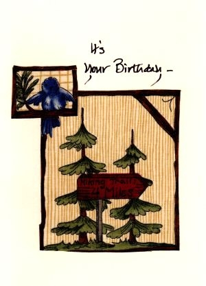 Handmade Birthday Cards For The Hiker
