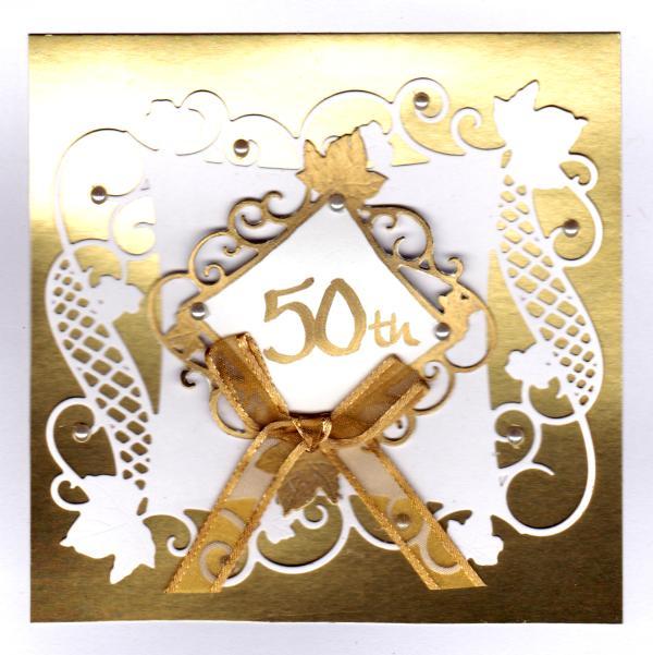 50th wedding anniversary gift