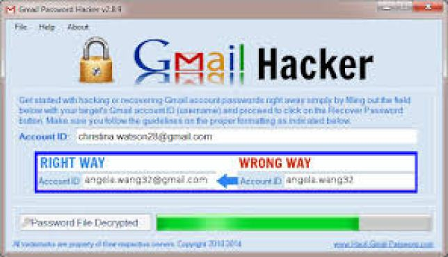 Gmail Hacker Crack