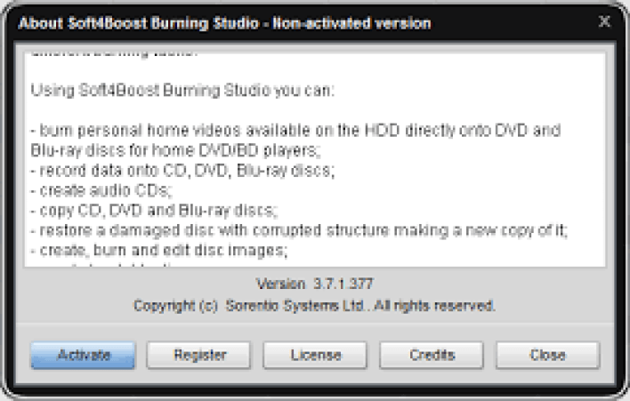 Soft4Boost Burning Studio