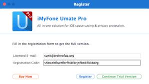 Myfone Umate Pro Cracked