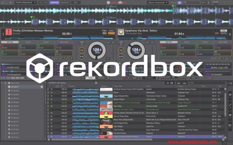 Rekordbox DJ 6.1.1 Crack With License Key Free Download & Activation Code