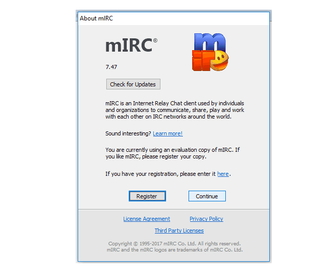 mIRC 7 Full crack