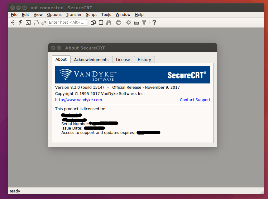 SecureCRT 8.3.1