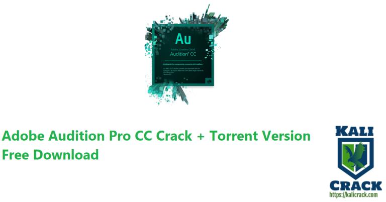 Adobe Audition Pro CC 2022 (14.4.0.38) Crack + Torrent Version Download