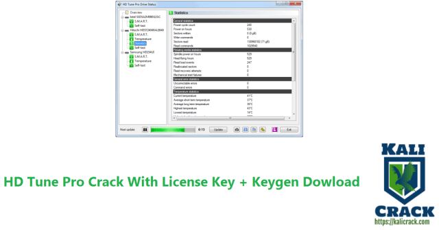 HD Tune Pro Crack With License Key + Keygen Dowload