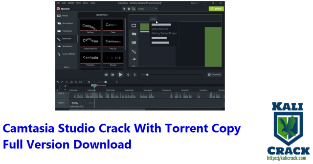 Camtasia Studio Crack With Torrent Copy Full Version Download