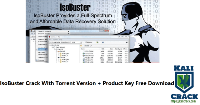 IsoBuster Crack With Torrent Version + Product Key Free Download