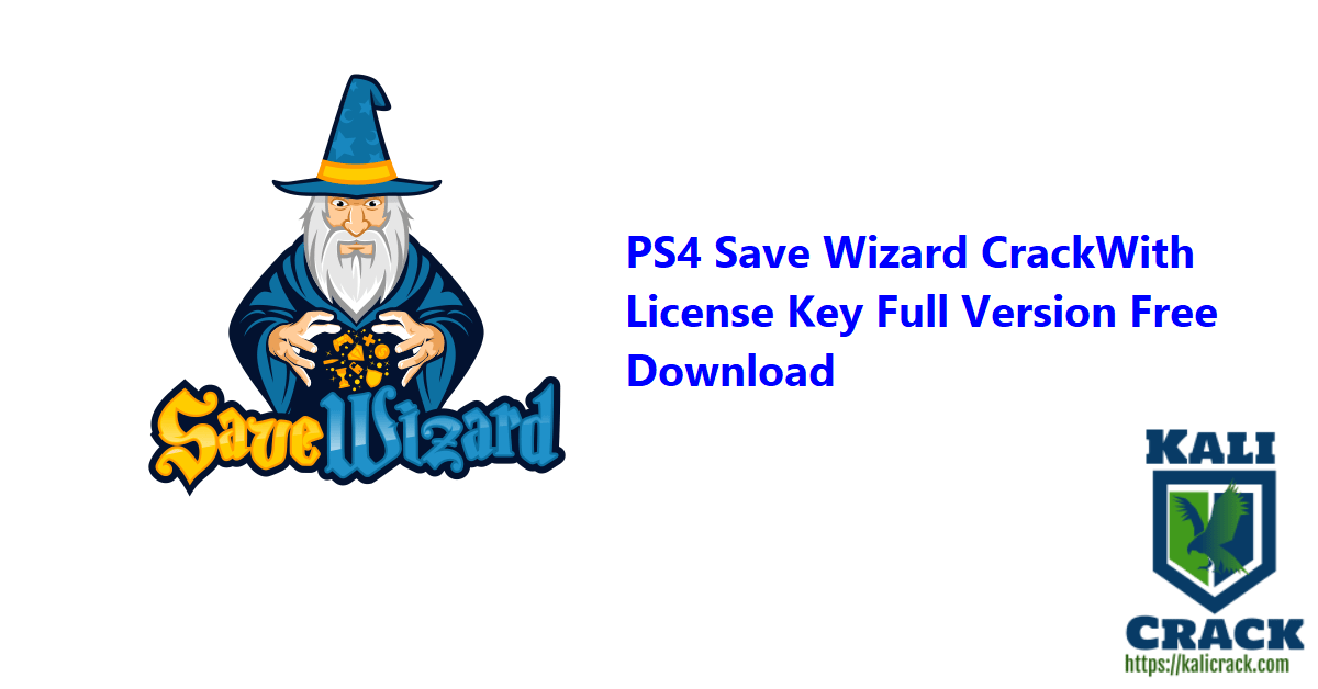 PS4 Save Wizard CrackWith License Key Full Version Free Download