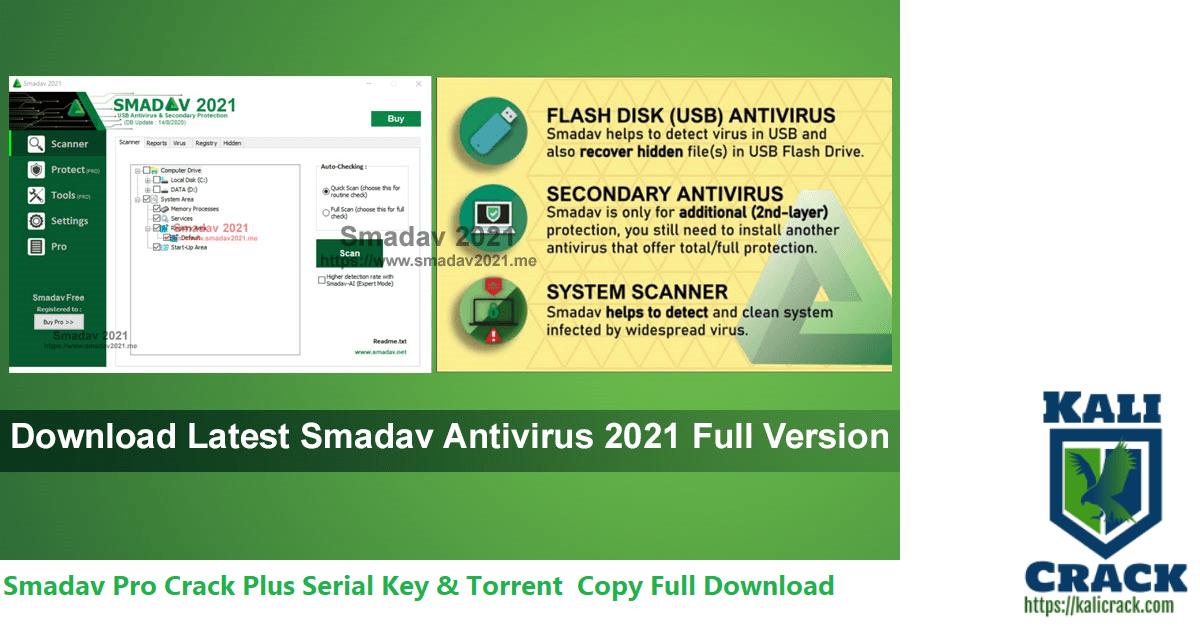 Smadav Pro Crack Plus Serial Key & Torrent Copy Full Download