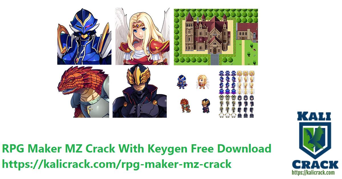 RPG Maker MZ Crack With Keygen Free Download