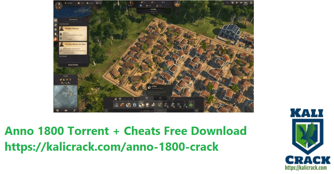 Anno 1800 Torrent + Cheats Free Download