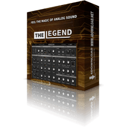 Synapse Audio The Legend Crack v1.3.1 Win & Mac 2021 Free Download