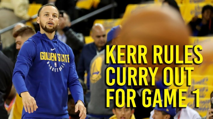 NBA Playoffs: Kerr says Curry out for game 1 against Pelicans, likely to play  game 2 − アフィリエイト動画まとめ