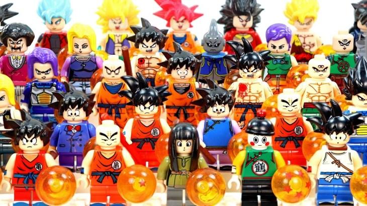40 Dragon Ball 超サイヤ人 Sūpā Saiya-jin Goku Krillin Vegeta Broli Unofficial LEGO Minifigures – アフィリエイト動画まとめ