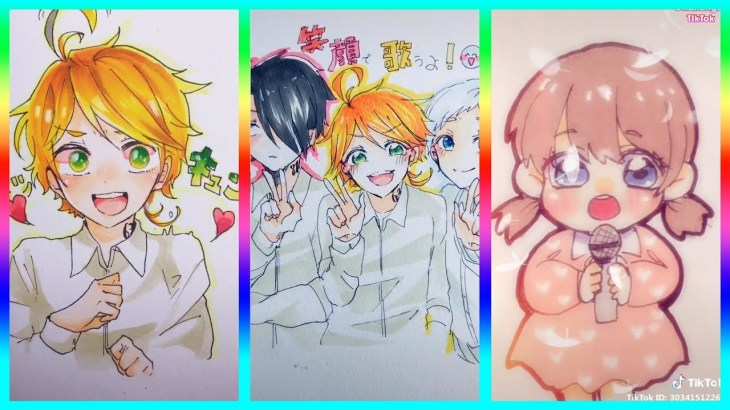【ティックトック イラスト】ック絵   Tik Tok Paint Anime #66 – アフィリエイト動画まとめ