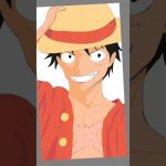 Desenho de Monkey D. Luffy – One piece – アフィリエイト動画まとめ