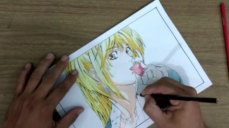Time-lapse,Misa Amane Death Note. − アフィリエイト動画まとめ