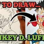 How To Draw Monkey D. Luffy | One Piece – アフィリエイト動画まとめ