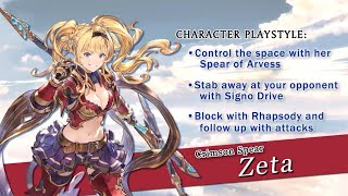 Granblue Fantasy Versus Zeta Character Reveal and Gameplay Trailer − アフィリエイト動画まとめ