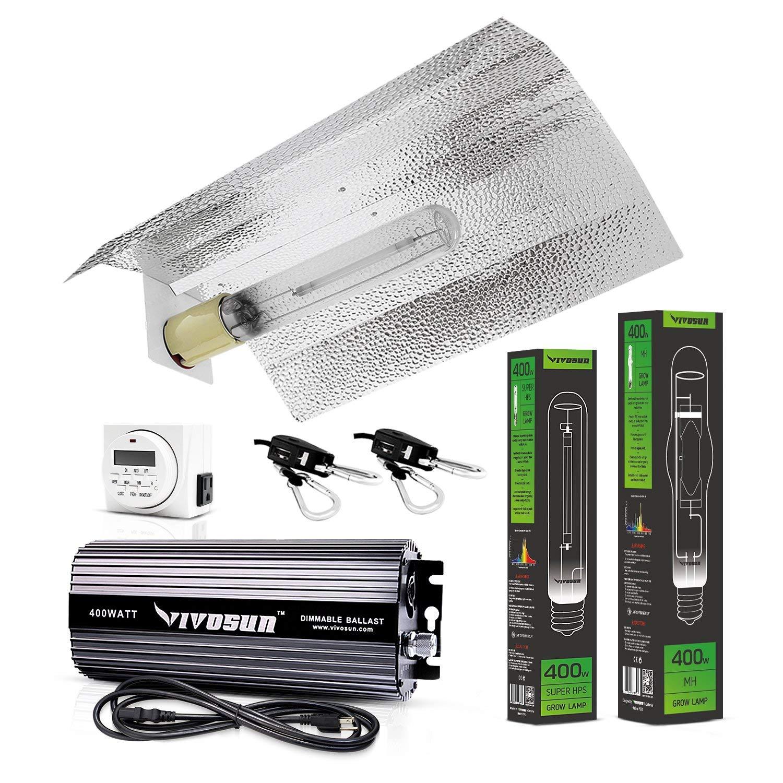 5 set Adjustable Reflector Hoods For 1000w 600w 400w 250w Indoor Grow Tent Light