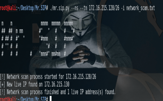 Mr SIP : Tool Develop to SIP-Based Audit and Attack 2018