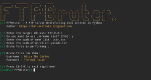 FTPBruter
