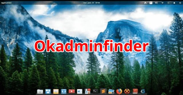 Okadminfinder