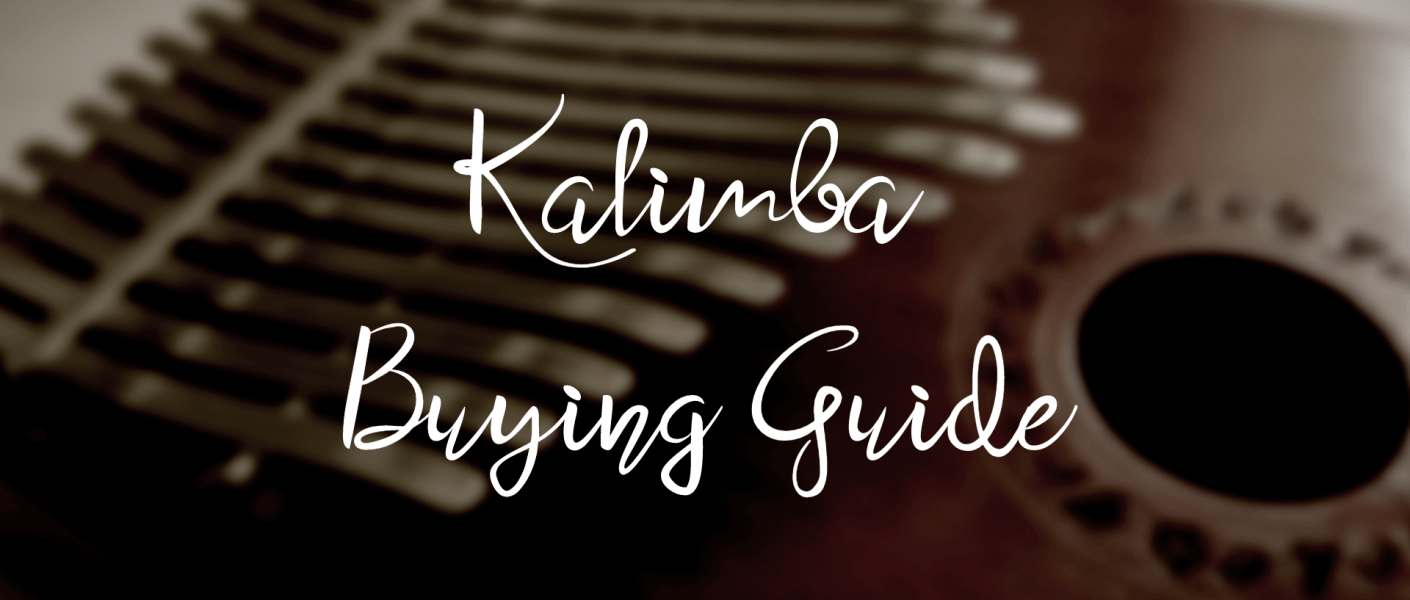 "title image with text ""Kalimba Buying Guide"""