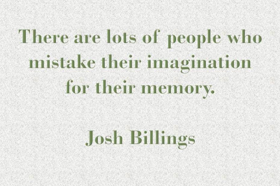 Πώς η μνήμη αλλοιώνει το παρελθόν