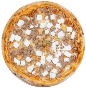 Pizza tuna i feta sir
