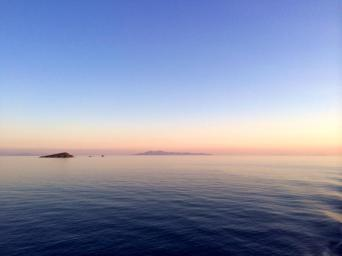 Sunset in the Cyclades