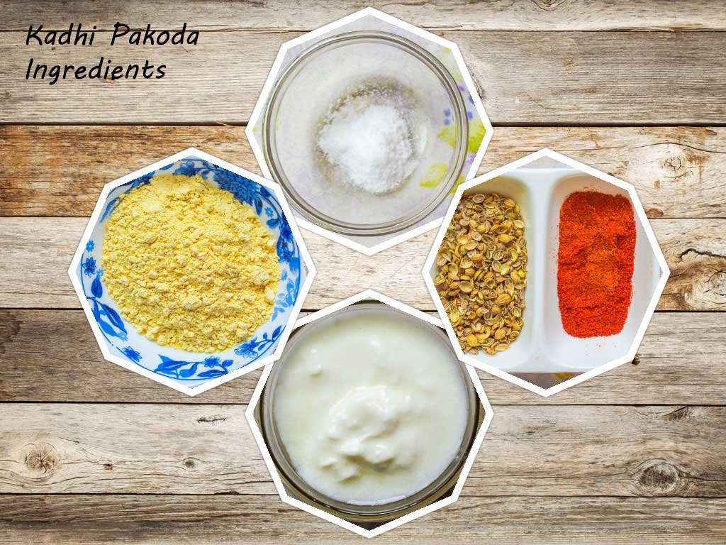 Pakoda Ingredients