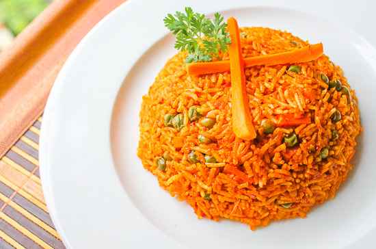 Pulao in microwave