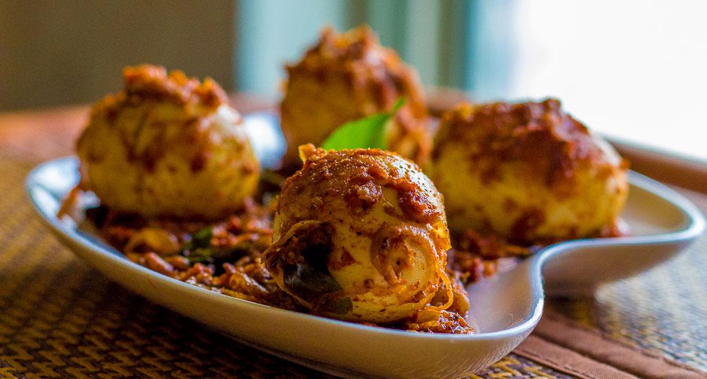 Nadan Mutta Roast- Egg Roast