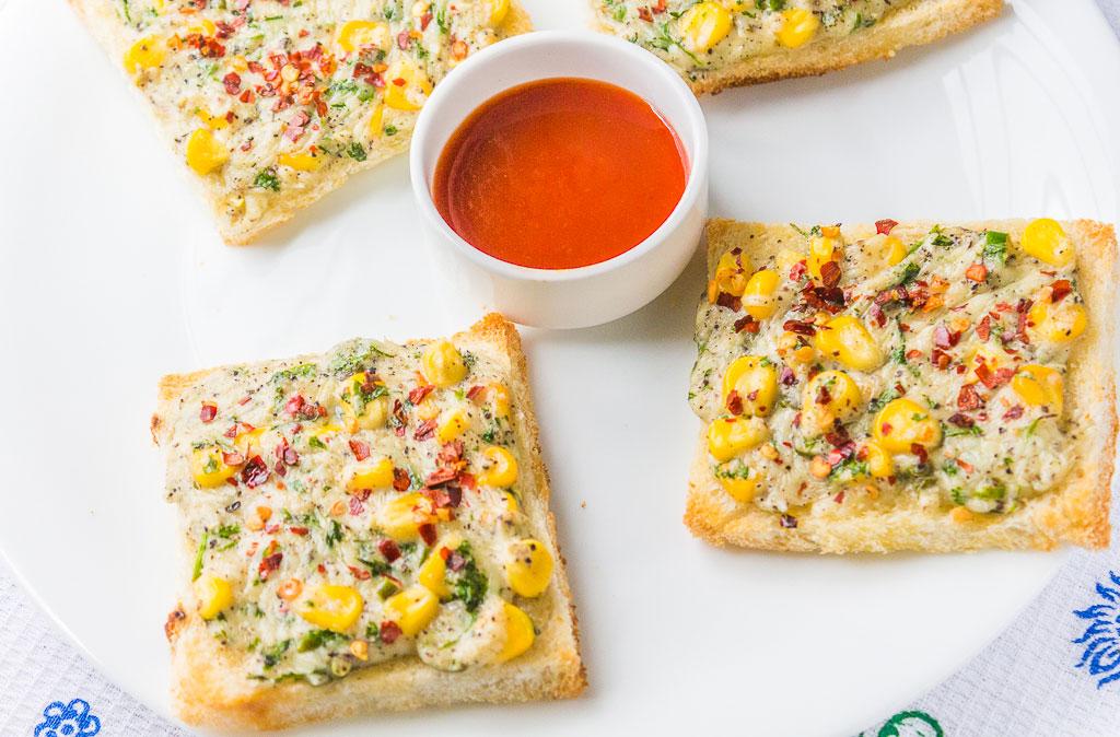 Cheese Chilli Toast