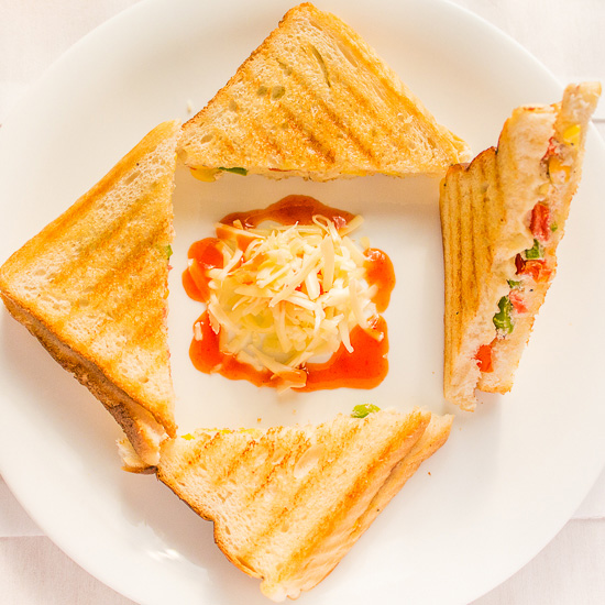 Corn Mayo Sandwich
