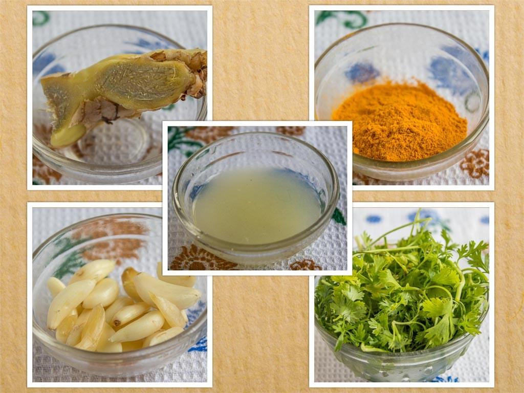 Stuffed Bangda Fry Ingredients