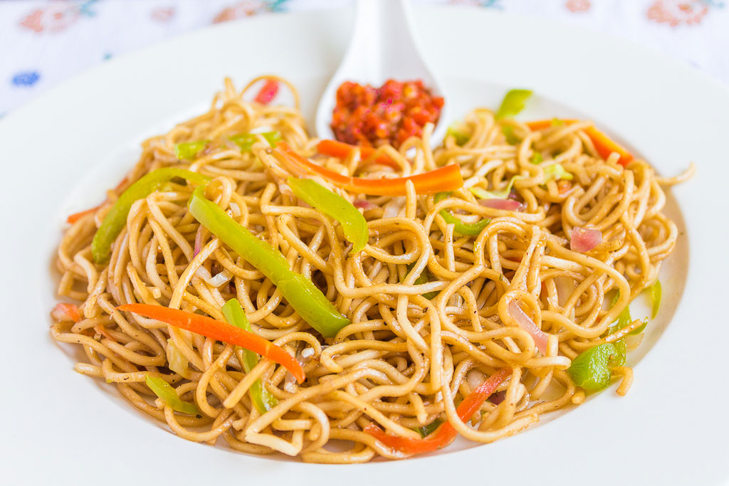 How To Make Veg Noodles At Home