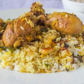 Thalaserry Chicken Biryani