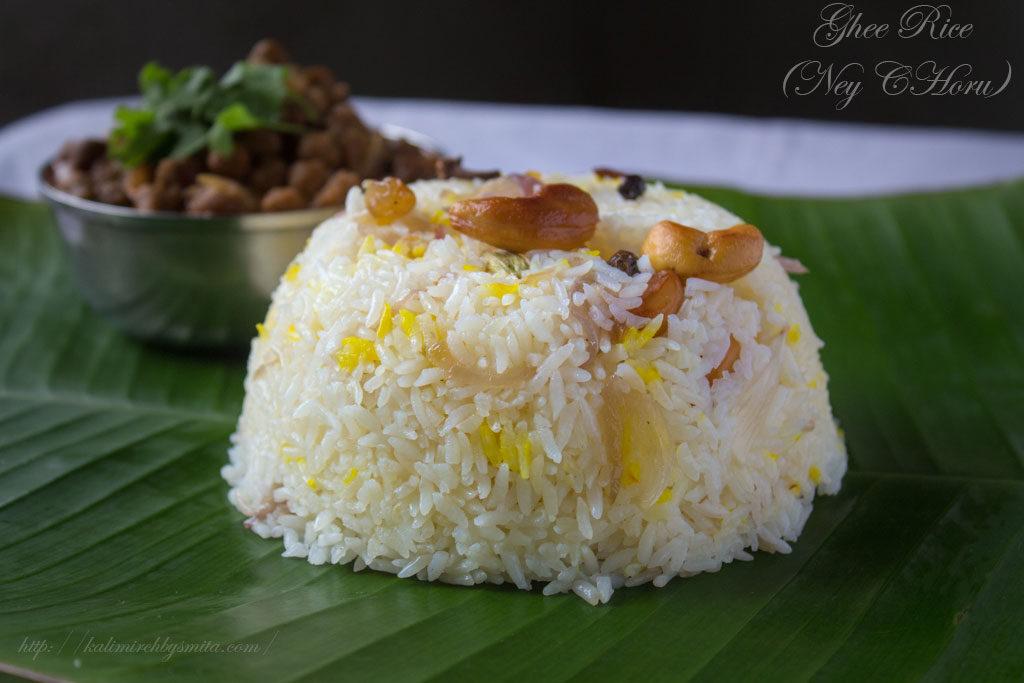 Ghee Rice-Ney Choru
