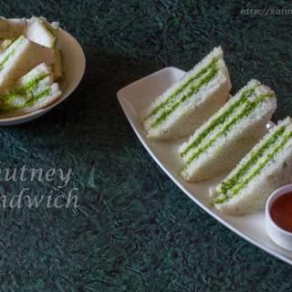 Green Chutney Sandwich