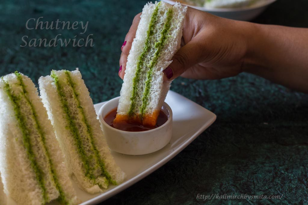 Green Chutney Sandwich