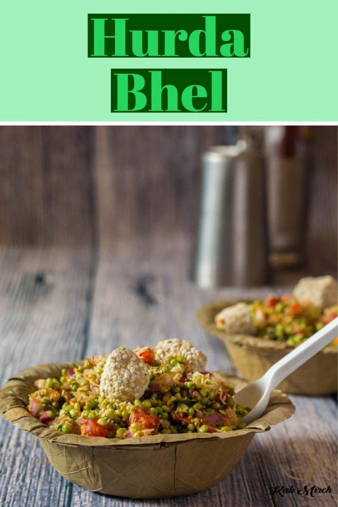 Hurda Bhel-Jowar Sorghum Bhel