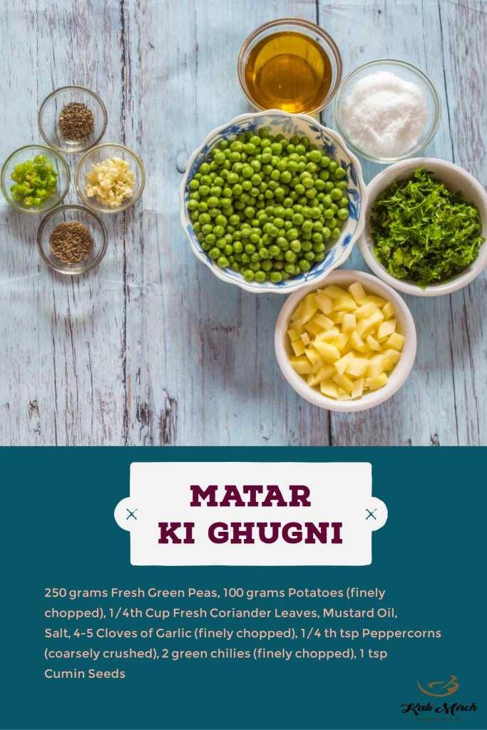 Matar Ki Ghugni