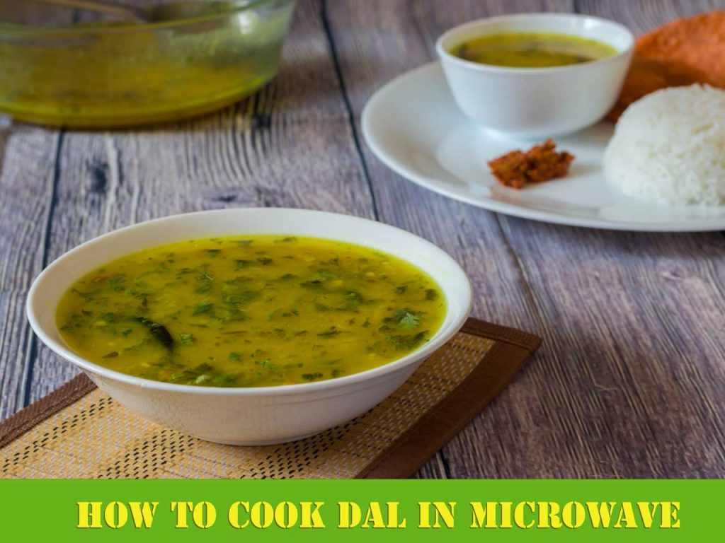 Dal tadka in Microwave