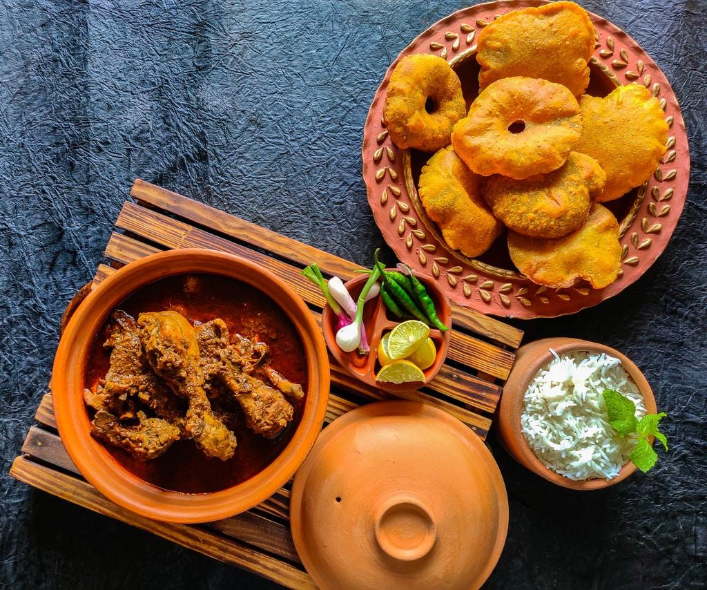 Malvani Chicken Kombdi Vade