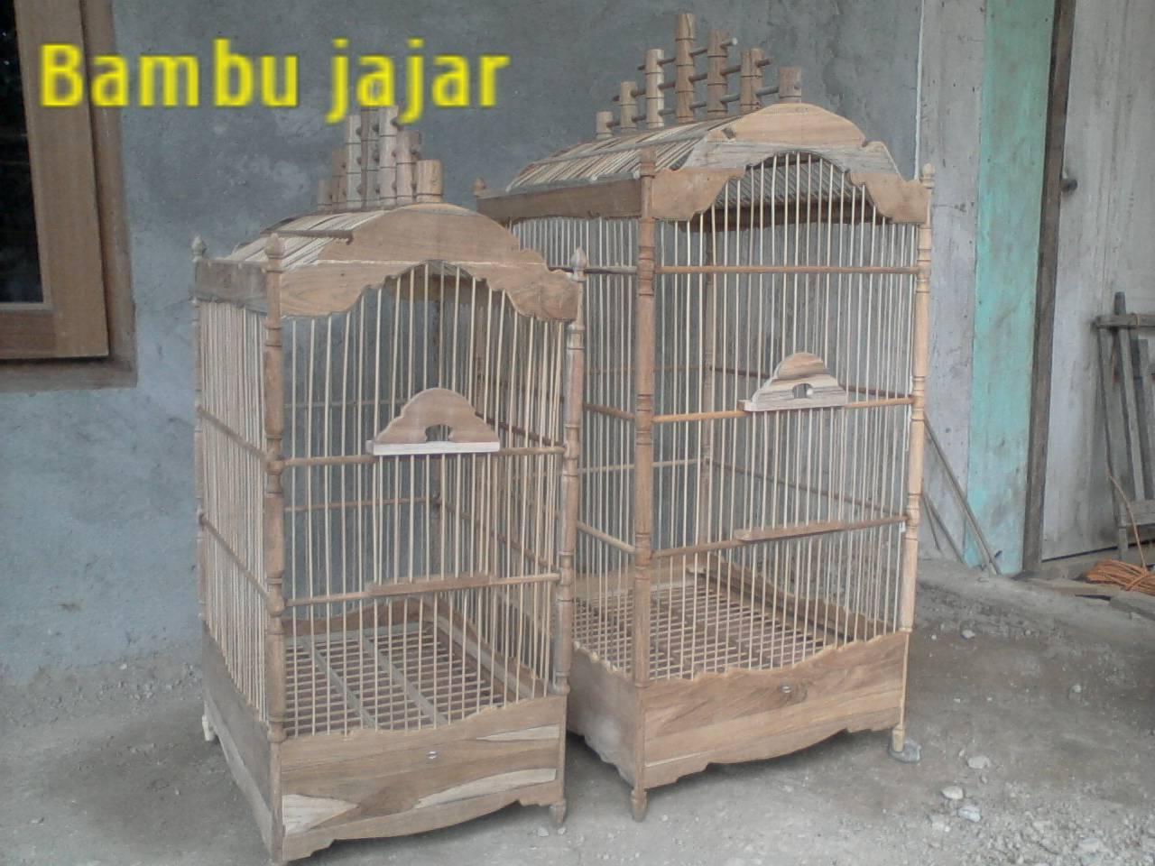 produk sangkar burung  KUBkalingga jati