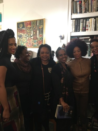 Beautiful women of creativity and grace...Rachel Eliza Griffiths, Margaret Porter Troupe, Malaika Adero, Terry McMillan, Harriette Cole